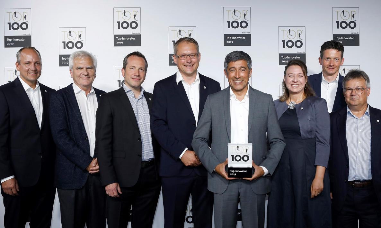 Auszeichung Top Innovator 2018 für die attempto GmbH & Co. KG