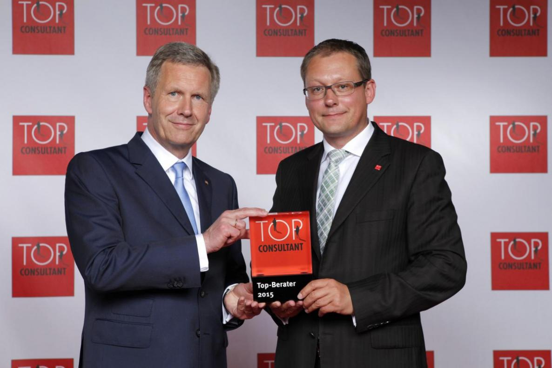 Top Consultant 2015 - Breitruck Wulff