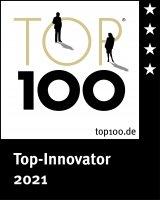TOP100 INNOVATOR Award Signet 2021