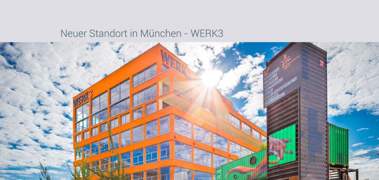 neuer Standort in München - WERK3